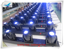 2xlot Dj equipment china 4 led rotating light 10watt sweeper beam led 4 eyes Beam Quad LED Moving Light Bar
