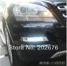 FREE SHIPPING, CHA 2008-2012 W204 GLK300 GLK350 GLK500 SPECIAL LED DAYTIME RUNNING LIGHT FOG LAMP V3, GLK CLASS