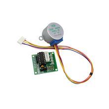 Frees Shipping 5V 4-Phase Stepper Step Motor + Driver Board ULN2003 with Drive Test Module Machinery Board(China)