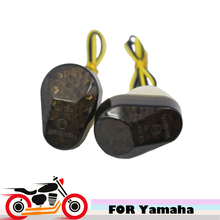Motorcycle Flush Mount LED Turn Signals Light for Yamaha YZF R1 R6 R6S  FZ6S FAZER 600 FZ1S FAZER 1000 XJ6 MT-03 FZ8 FAZER