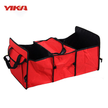 YIKA Car Trunk Multi Purpose Folding Storage Box Oxford Cloth Truck Storage Bag Cargo Portable Tool Car Organizer Bag