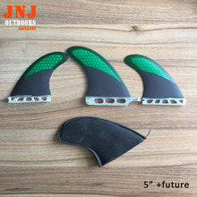 "FREE SHIPPING quality sup stand up paddling board fin system 5"" SUP centre fin and 2 pcs future fin"