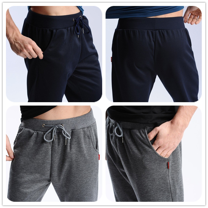 Uwback 17 Plus Size 4XL New Sweat Pants Men Joggers Pants Elastic Waist Loose Sweat Pants For Men Casual Trousers homme CAA329 18