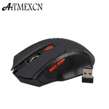 Aitmexcn Optical 2.4Ghz Wireless Mouse Computer Gaming Laser Mouse sem fio 2400DPI Professional Gamer Mause Mice  for Laptop pc