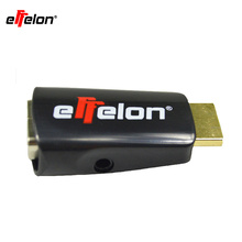 Effelon HDMI to VGA Adapter with Audio Cable Power Male To Female 1080p HDMI to VGA Converter For PC/TV/for Xbox 360