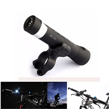 Outdoor Bluetooth Bicycle Speaker 4in1 LED Flashlight Wireless speaker Power Bank Handsfree Mic For Iphone Xiaomi Sport Mounting
