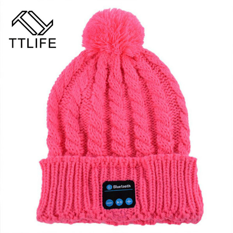 TTLIFE Bluetooth Headphones Hat Bluetooth Earphone Cap Wireless Headset Sport Outdoor in Winter Auriculares Microphone For Phone<br><br>Aliexpress