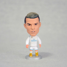 "Soccer 7# Cristiano ronaldo(RM) 2.5"" Action Doll Toy Figure 2017-2018 season"