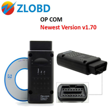Op-com V1.70 Warmly recommend latest version OBD2 Opcom usb can Op com for opel diagnostic tool free shipping
