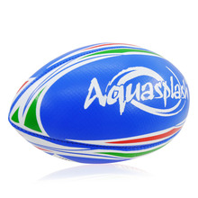 New Size 3 Blue Rugby Balls Suitable For Kids Outdoor Sports American Football PVC Inflatable Training American Rugby Ball