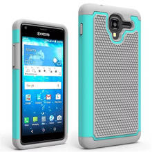 Armor Hybrid TPU Shockproof Silicone + Hard Shell Phone Case For Kyocera Hydro View C6742 Case Back Cover Skin Bag(China)