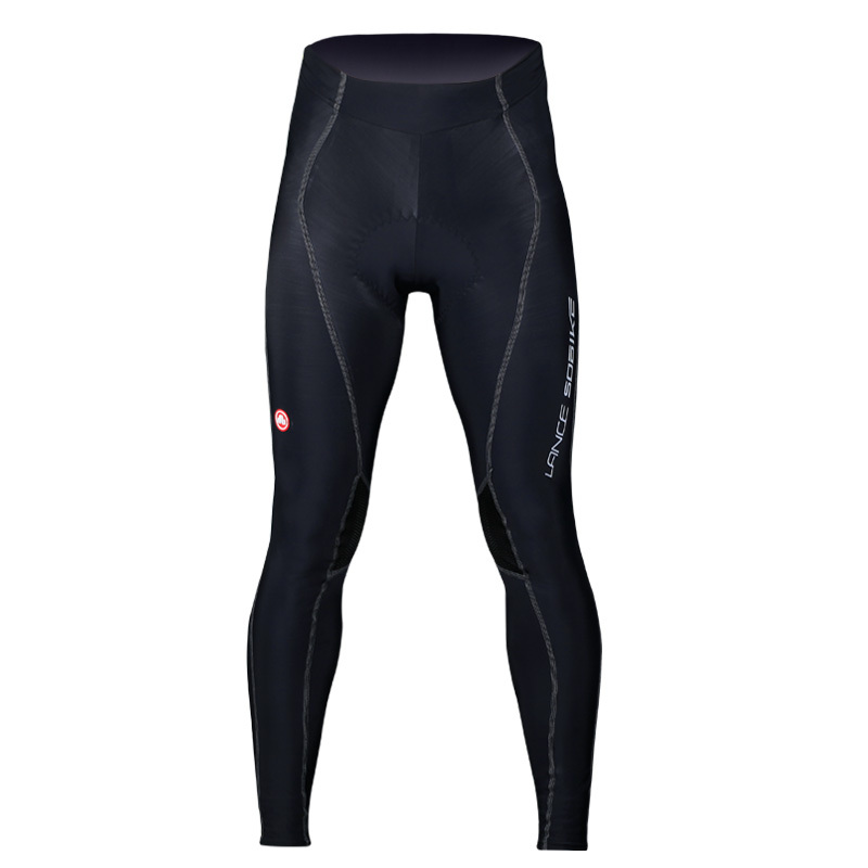 LANCE SOBIKE Men Autumn Outdoor Sportswear Pants Bike Bicycle Cycling Cycle Clothing Breathable 3D Paded Long Tight Pants-Cruise<br>