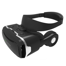 Virtual Reality Glasses VR 3D Headset w/ Headphone Support  Talking for Android iOS Windows Smart Phone with 3.5-5.5 inches