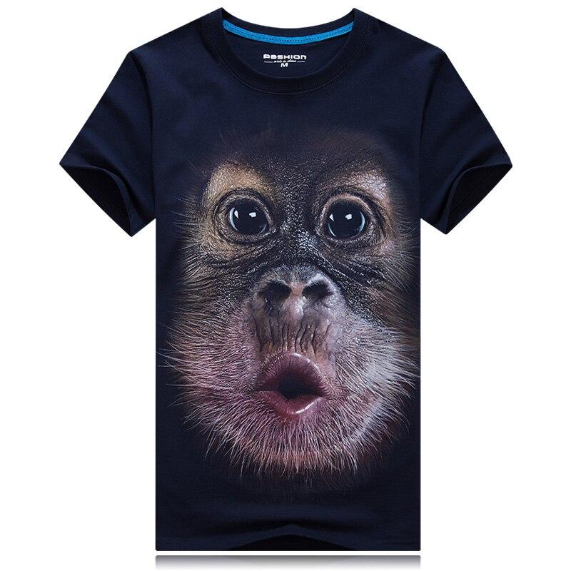 HTB1ADHnRpXXXXX4XXXXq6xXFXXXz - 2017 Summer New 3D T Shirt Men's Short-sleeve Fashion O-Neck animal T-shirt Printed Casual Navy blue Male Shirts Plus size 6XL