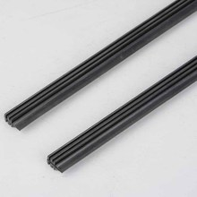"2PCS 2016 Universal Car Frameless Wiper Blade Refill 26"" Rubber Bracketless Auto Car Soft Windshield Windscreen Wipers On sales(China)"