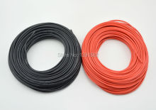 1 METER Red+ 1 METER Black 12AWG 14AWG 16AWG 22AWG 24AWG Heatproof Soft Silicone Wire Cable For RC Model Battery Part