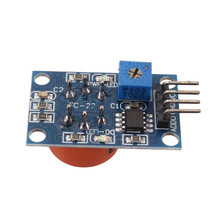 New Arrival 1pc MQ3 Alcohol decector gas sensor Module Active Components Electronic Supplies Integrated Circuits(China)