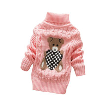 BibiCola Baby Sweaters Newborn Baby Boys Girls Autumn Winter Warm Outewear Sweater Coat Infant Kids Fleece Clothes(China)