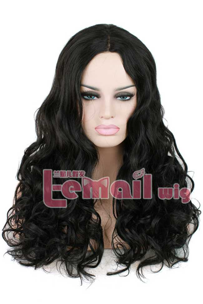 Cheap 60cm Heat Resistant African Americans Long Synthetic Kinky Curly Lace Front Wig For Black Women<br><br>Aliexpress