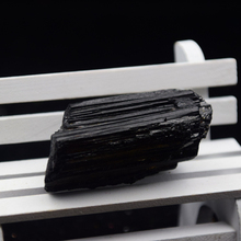 Natural quartz crystal black tourmaline rough stone feng shui furnishing articles Holiday gifts