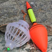 New Arrival Fishing Float Bobber Sea Monster with Carbon Steel Six Strong Explosion Hooks Fishing Tackle Set(China)