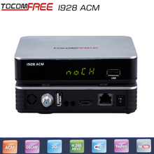 2PCS/Tocomfree i928ACM with free iks 4k satellite receiver for south america Open Amazonas61W and Star One C2 KU 70W Pay channel