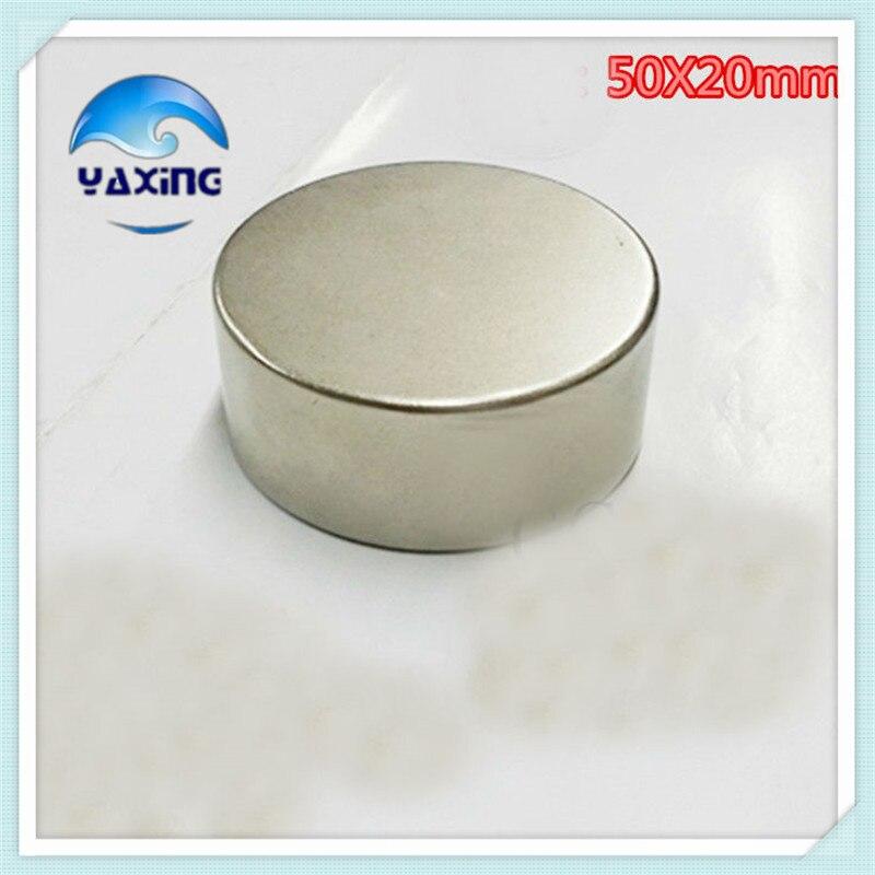 1 pcs neodymium micro magnet Round NdFeB Neodymium Disc Magnets Dia 50mm x 20mm N35 Rare Earth NdFeB Magnet<br>