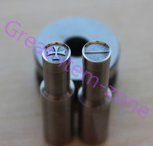 cross breaking 8mm flat die mold punch set for stamp Customized punch for tdp0/1.5/5 candy press machine(China)
