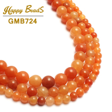Natural Red Aventurine Quartz Stone Beads For Jewelry Making 15inch 4/6/8/10mm Spacer Round Beads Making Bracelet