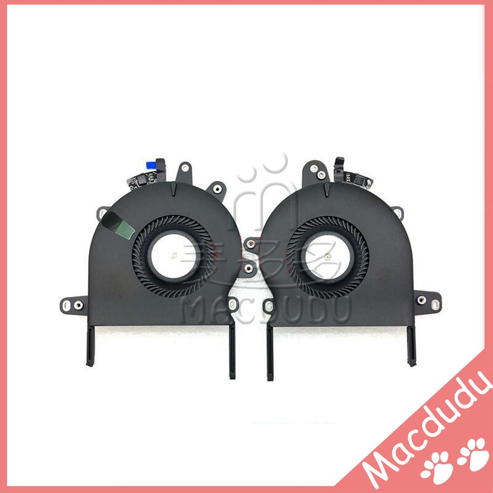 New Laptop CPU Cooling Fan For MacBook Pro Retina 13 A1706 Left + Right Late 2016 Year MLH12 EMC3071<br>