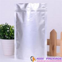 18x26 silver stand up pouch ziplock aluminum foil bag small foil bags coffee packaing bags tea packaging pouches