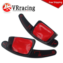 VR - FREE SHIP Carbon Fiber Steering Wheel Shift Paddle for VW Golf 7 Steering Wheel Paddle Extension Shifters Sticker VR-PSD05(China)