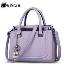 Ladsoul top-handle Women Handbags best selling ladies shoulder Bags totes Crossbody Bag pouch Pendant accessories shopping bag