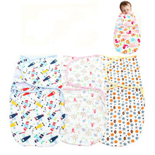 Baby Swaddling Spring Summer Cartoon Sleep Bag Cotton Infant Parisarc Baby Wrap Envelope Newborn Wrapped Towel Boys Girls