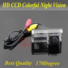 CCD full lens wired Car camera for Toyota New Reiz 2009/Landcruiser Auto Car Parking Camera for GPS/DVD 170 Degree waterproo(China)