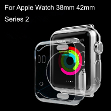 For Apple Watch 38mm 42mm Series 2 Case  Ultra Thin Protective Cover Cases Bumps Protective Skin Shell With Retail Box