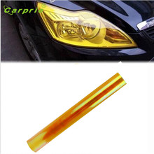 Dropship Hot Selling Car Headlight Fog Lamp Protect Film Vinyl Wrap Overlays Sheet Gift Aug 24(China)