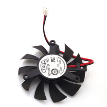 High Quality T&T 6010M12F ND1 12V 0.20A 55mm 39*39*39mm Graphics / Video Card VGA Cooler Fan 2Wire 2Pin Radiator