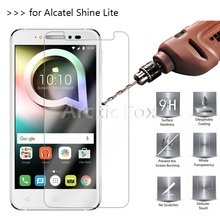 2.5D 0.26mm 9H Premium Tempered Glass For Alcatel Shine Lite 5.0Inch Screen Protector Toughened protective film