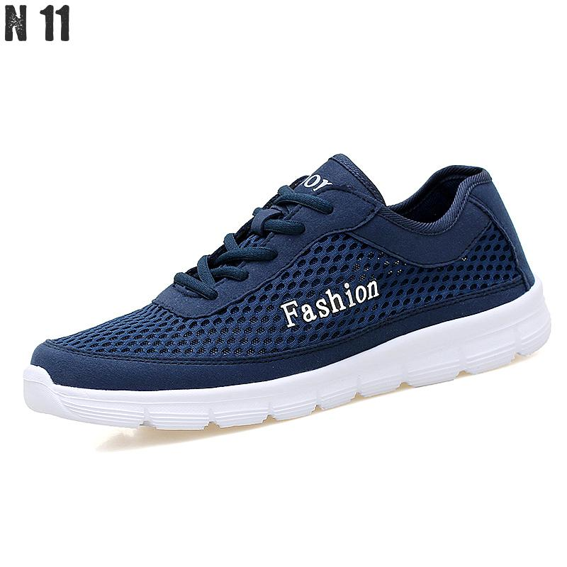 Men Casual Shoes 2017 New Summer Breathable Mesh Casual Shoes Size 38-46 Slip On Soft Mens Loafers Outdoors Walking Shoes<br><br>Aliexpress