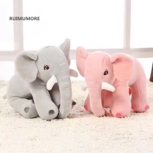 2Colors - Kawaii Medium Elephant 20CM Plush Stuffed TOY DOLL , Sucker Car Room Window Pendant decoration Plush TOY DOLL(China)