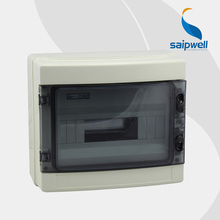 Saipwell 2014 Hot Distribution Box IP66 12 ways Waterproof Plastic Distribution Box HA series
