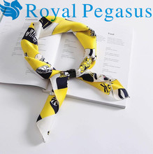 The spring and autumn small occupation all-match small square scarf lady airline stewardess tide