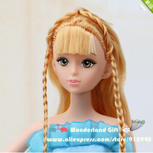 NEW 30cm 12 joints naked doll,princesses,pretty hair styles toy for girls,princess story game toy,cheap price gift for kids