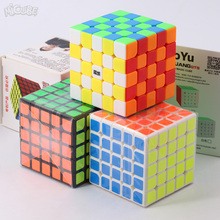 Micube Moyu Weichuang GTS 5x5x5 Magic Cube Speed Puzzle 5x5 Competition Cubes Toys WCA Championsh square plastic stickerless