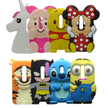 3D Cartoon Horse Unicorn Case For Motorola Moto X Play XT1562 XT1563 Soft Silicon Cover Couque For Moto X Play(China)