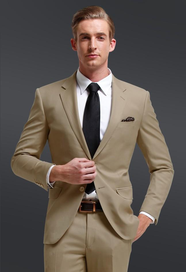 High Quality Khaki Suits Men Promotion-Shop for High Quality ...