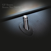 High Quality Alloy Door Lock Stick Pin Cap cover trim For  Opel Mokka ASTRA J Insignia Sport Tourer Chevrolet Cruze Trax Malibu
