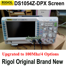 Original Rigol DS1054Z Unlocked 4 Options for free 4 Ch 50Mhz Bandwidth 12Mpts Memory Digital Scopemeter, Brand New