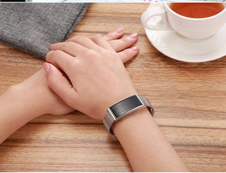 Microwear X3 IP68 Waterproof smart fitness bracelet pedometer blood pressure smart wristband Android iOS fitness tracker 9
